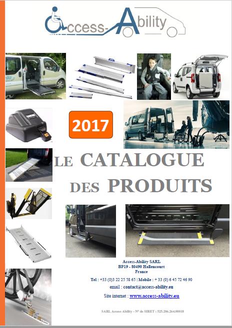 Catalogue Produits TPMR 2017