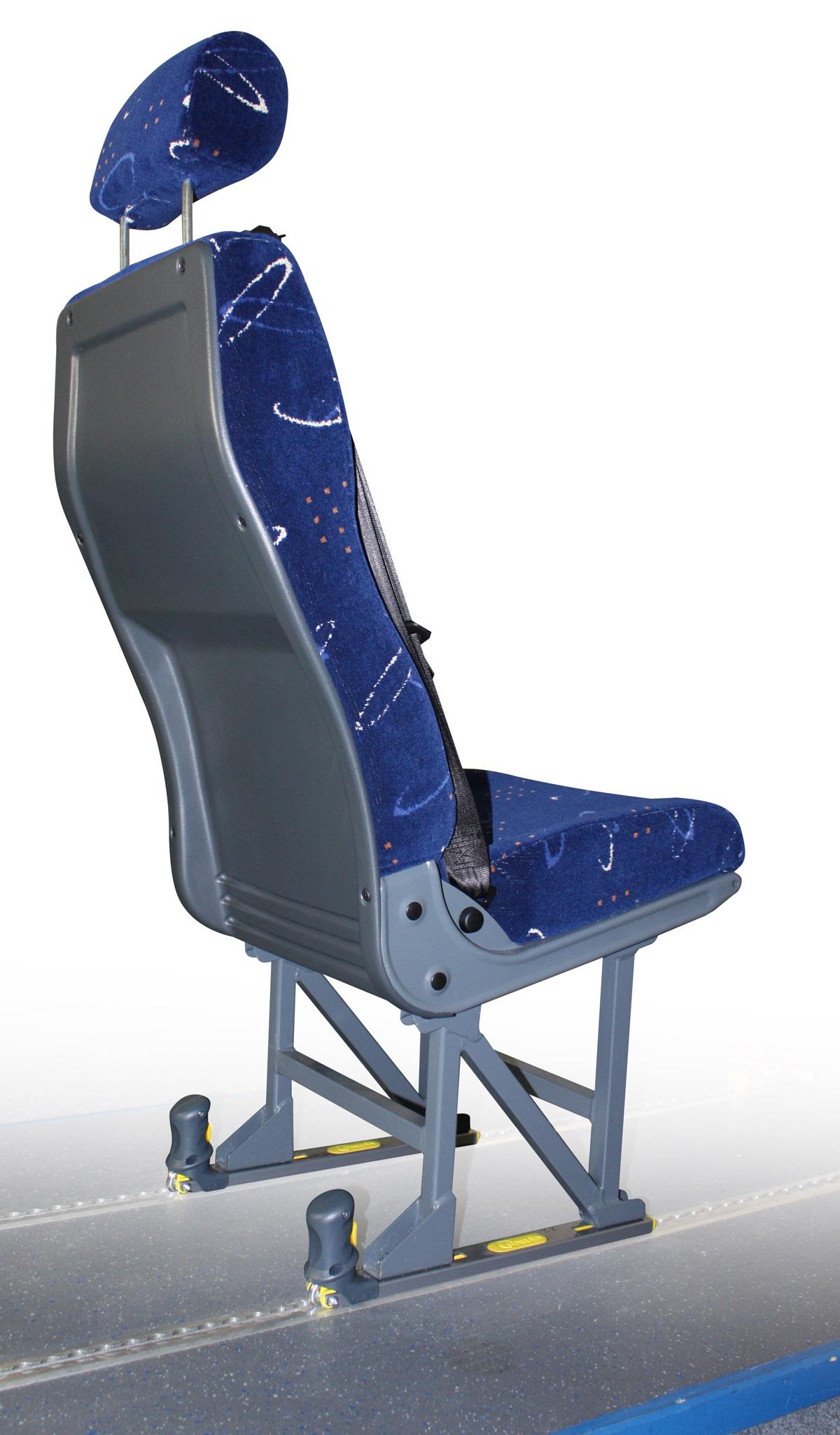 Fixation siège fauteuil roulant HAL