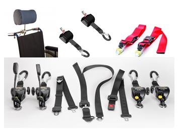Produits arrimage fauteuil roulant arrimage tpmr