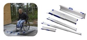 Fauteuil Roulant TPMR - Rampe pour fauteuil roulant