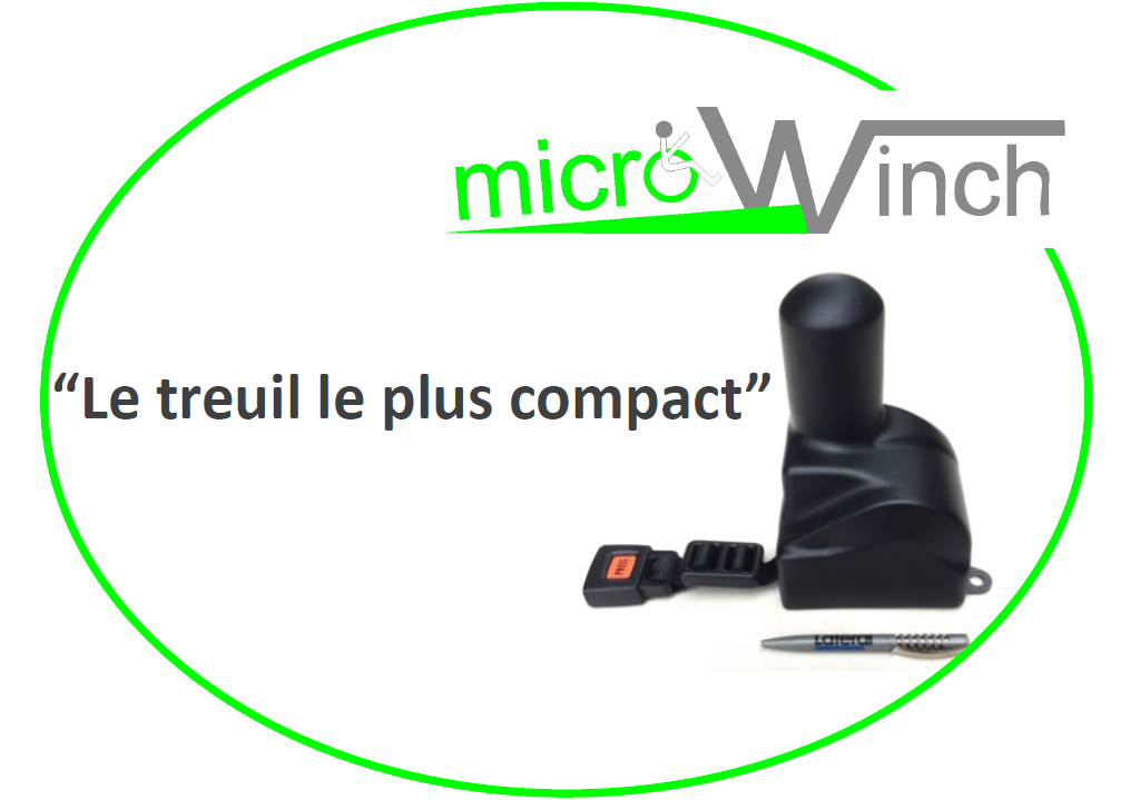 MicroWinch Micro Treuil pour fauteuil roulant