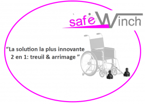 Treuils d'accès pour fauteuil roulant