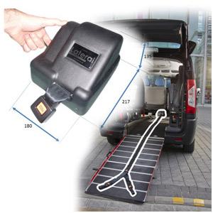 Produits pour aménagement de véhicules TPMR