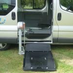 Élévateur Fiorella Trafic TPMR aménagement véhicule