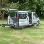 Élévateur Fiorella porte latérale porte arrière TPMR aménagement véhicule
