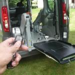 Élévateur porte arrière TPMR aménagement véhicule