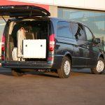 Élévateur TPMR aménagement véhicule pour transport fauteuil roulant