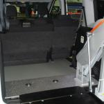 Élévateur TPMR Doblo aménagement véhicule