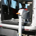 Élévateur Doblo TPMR aménagement véhicule