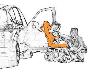 Transfert de personnes à mobilité réduite