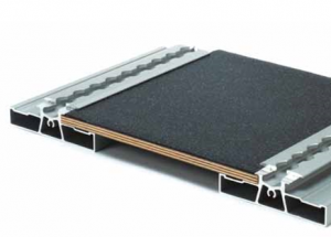 Plancher hybride aluminium bois