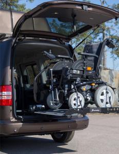 Plateforme élévatrice fauteuil roulant Joey Lift