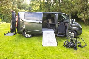 Véhicule démo personnes à mobilité réduite Access Ability