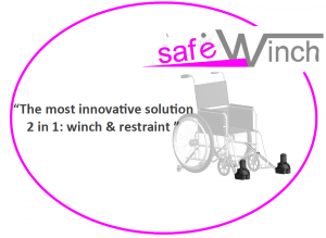 Wheelchair winch