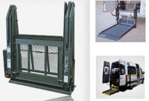 double arm wheelchair lift