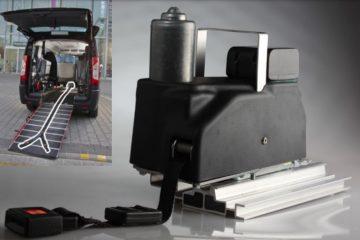 Treuil portable pour fauteuil roulant