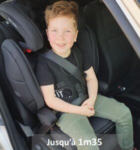 Siège auto Recaro avec harnais de maintien