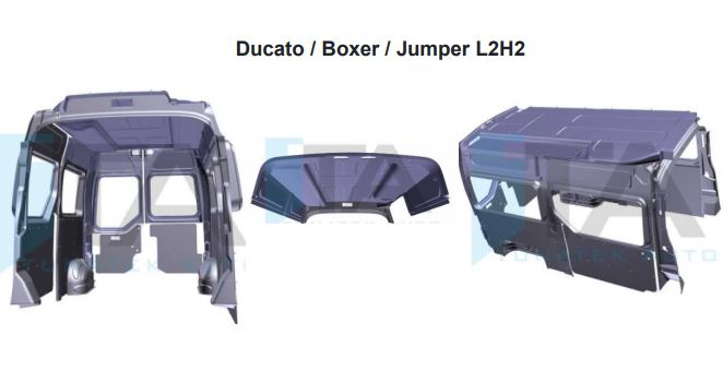 Habillage plastique Ducato Boxer Jumper