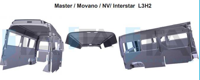 Habillage plastique Master Movano Interstar