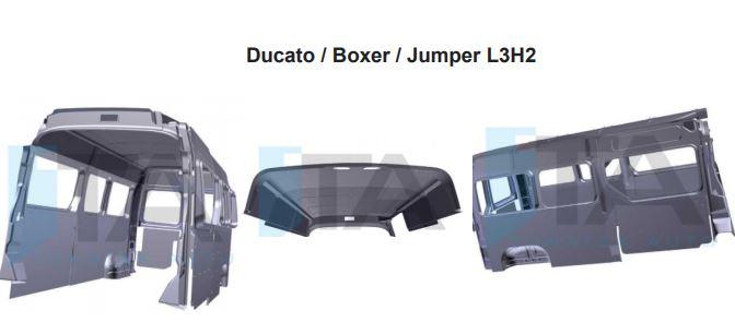 Garniture plastique Ducato Boxer Jumper